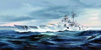 05358 German Battleship BISMARCK