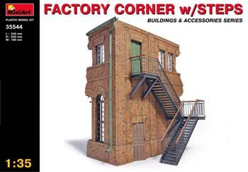 35544  Factory Corner with steps