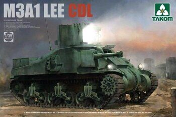 2115 1/35 US MEDIUM TANK M3A1 LEE CDL