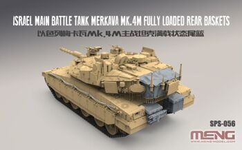 SPS-056 Israel Main Battle Tank Merkava Mk.4M Fully Loaded Rear Baskets