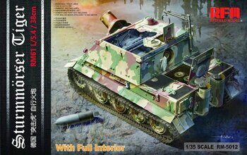 RM-5012 1/35 Sturmtiger With Full Interior