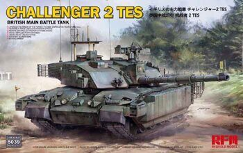 RM-5039 British main battle tank Challenger 2 TES w/workable track links