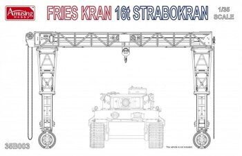 35B003 1/35 Fries kran 16t Strabokran