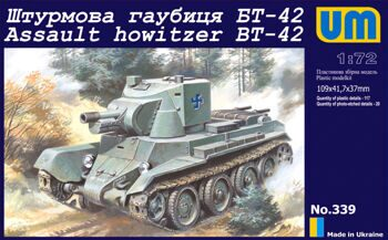 339  BT-42 Finnish assault howitzer