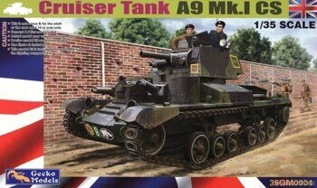 35GM0004 Cruiser Tank Mk.1 CS, A9 Mk.I CS