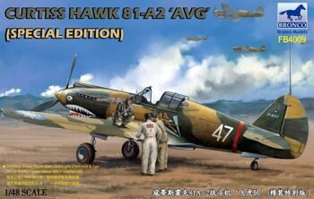 "FB4009 CURTISS HAWK 81-A2 ""AVG"" (Speical Edition)"