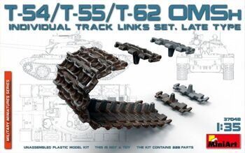 MA37048 T-54/T-55/T-62 OMSh Individual Track Links Set.Late Type