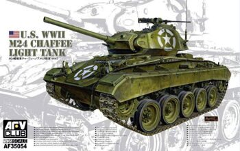 AF35054 WWII M24 Chaffee Light Tank