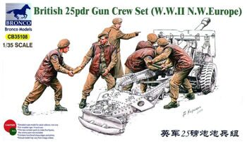 CB35108 25pdr Gun Grew Set