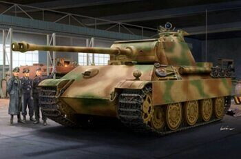 00929 German Sd.Kfz. 171 Panther Ausf.G - Late Version