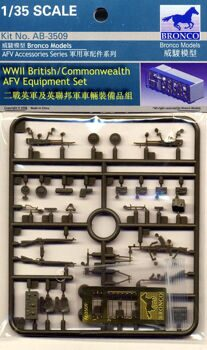 AB3509 WWII British/Commonwealth AFV equipment