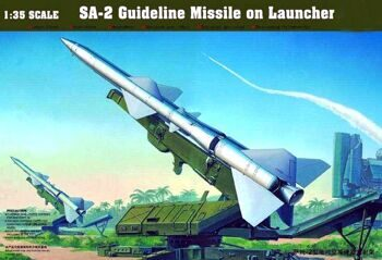 00206 Sam-2 Missile with Launchers Cabin