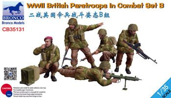 CB35131 1/35 WWII British Paratroops In Combat Set B