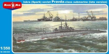 MM350-035  Pravda class Soviet submarine (late version)