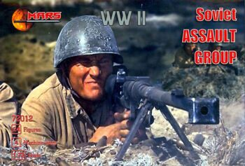 72012  WWII Soviet assault group