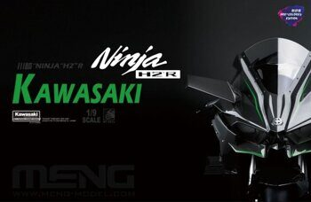 MT-001s Kawasaki Ninja H2R (Pre-colored Edition)