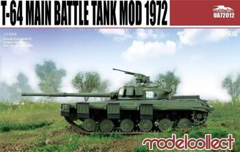 UA72012 T-64 Main Battle Tank Mod 1972