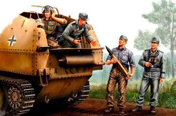 84402 German SPG Crew 1/35