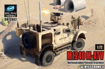 GH72A02 1/72 US M1240 M-ATV MRAP MRAP anti-ambush M153