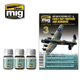 AMIG7416 EARLY RAF FIGHTERS AND BOMBERS