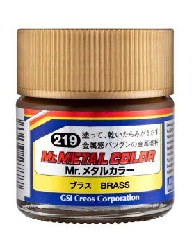 MC219 Mr Metal Color Brass