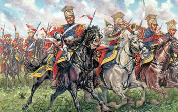 6039ИТ Солдатики Polish - Dutch Lancers (Napoleonic Wars)