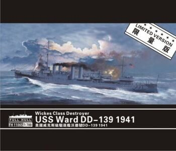 FH1106S Wickes Class Destroyer USS Ward DD-139 1941