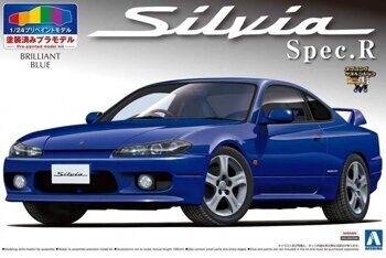 00862 1/24 S15 SILVIA SPEC.R (Brilliant Blue)