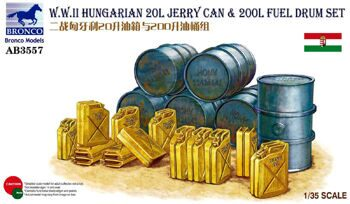 AB3557 1/35 WWII Hungarian 20L Jerry can @ 200L