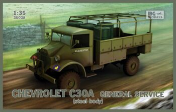 35038 Chevrolet C30A General Service(steel bod