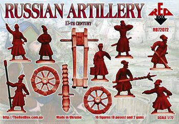 RB72072  Russian artillery, 17th century