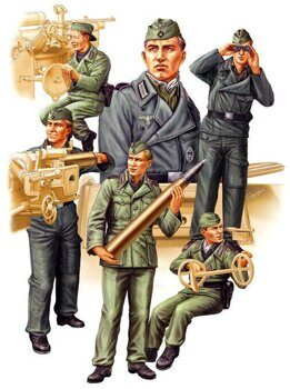 84407 German SPG Crew Vol.2 1/35