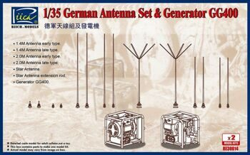RE30014 1/35 WWII Generator+Antenna Set