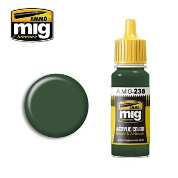 AMIG0238 FS 34092 MEDIUM GREEN