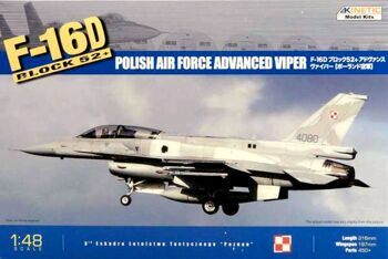 KI-K48010 1/48 F-16D Block 52+ (Polish Air Force Advanced Viper)