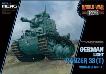WWT-011 German Light Tank Panzer 38(t)