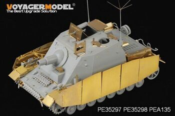 PE35297 1/35 WWII German Sturmpanzer IV Brummbar Mid Version Basic (For DRAGON 6460)