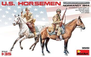 MA35151  U.S. Horsemen. Normandy 1944