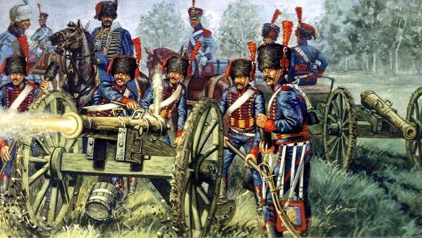 6018 FRENCH LINE/GUARD ARTILLERY