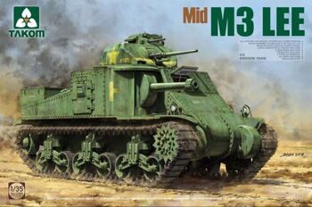 2089 1/35 US Medium Tank M3 Lee Mid