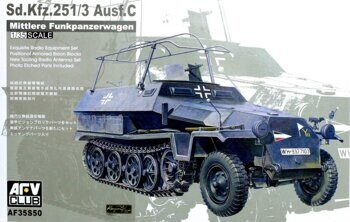 AF35S50 1/35 Sd. Kfz. 251/3 Ausf. C (commander Vehicle)