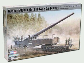 82903   German 280mm K5(E) Railway Gun Leopold 1/72