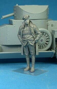F35-008 British RNAS Armoured Car Division Petty Officer