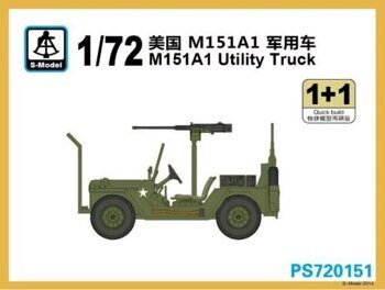 PS720151 1/72 M151a1 Utility Truck