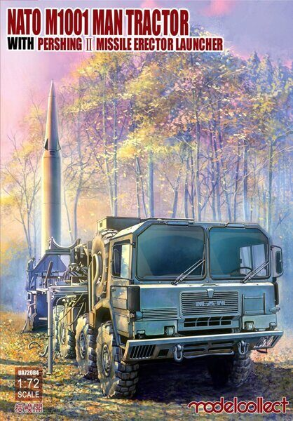 UA72084 Nato M1001 MAN Tractor & Pershing II Missile Erector