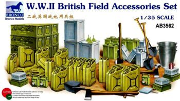 AB3562 1/35 WWII British Field Accessories