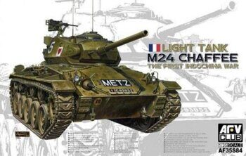 AF35S84 1/35 M24 Chaffee Light Tank the First Indochina War
