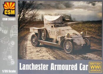 CSM35001 Lanchester Armoured Car