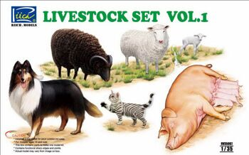 RV35007 1/35 Livestock Set Vol.1