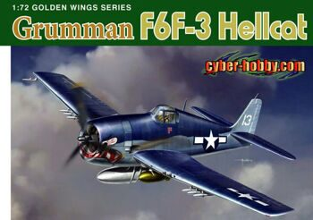 5060 1/72 Grumman F6F-3 Hellcat Airplane Model Kit